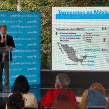 México, mejor preparado para atender desastres naturales: Unicef