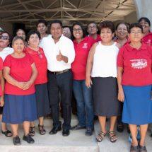 Trabajando todos unidos podemos lograr frutos y progreso: Fernando Bautista Dávila