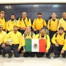 Oaxaqueños combaten incendios en Canadá