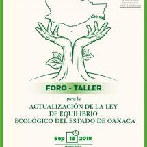Realizará Legislativo foro para actualizar Ley de equilibrio ecológico en Oaxaca