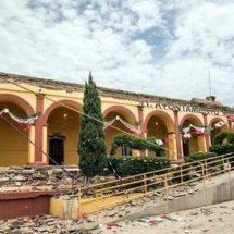 Recibirán en ruinas Alcaldías en Oaxaca