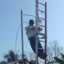 Gobierno Municipal de Tuxtepec subsana problemática de alumbrado público