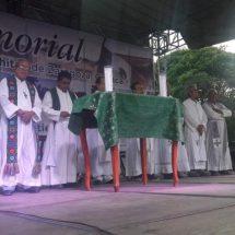 En Juchitán, Oaxaca, recuerdan a las víctimas del 7S