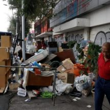 Desalojan un edificio habitacional en la CDMX