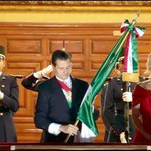 En su último Grito de Independencia, EPN se queda solo!