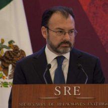 """Videgaray propone nombre en español para """"USMCA""""; se llamaría AMEC"""
