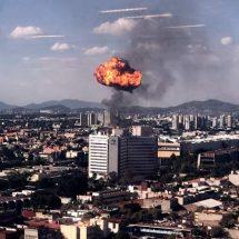 Evacuan a 2 mil personas por explosión e incendio en fábrica de alcohol
