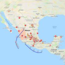 En este mapa podrás ver riesgos por huracán Willa