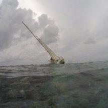 Velero con bandera de EU causa afectaciones en arrecife de QRoo