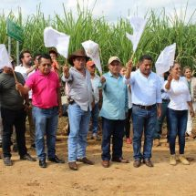 Dávila inicia modernización del camino Camelia Roja-Macin Chico