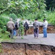 Lluvias dejan incomunicadas a 10 localidades de la Sierra Norte de Oaxaca