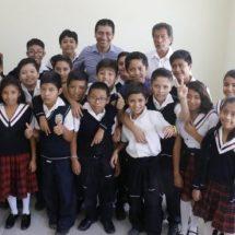 Mejoran infraestructura educativa a beneficio de niñez en Xoxocotlán