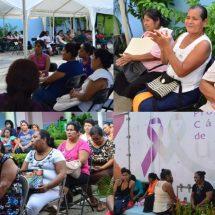 En últimos tres meses… María Luisa Vallejo García acercó estudios gratuitos de cáncer de mama y uterino a más de 1000  mujeres