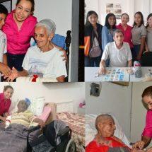 María Luisa Vallejo García hace emotiva visita a 40 adultos mayores de asilo local