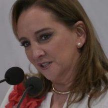Sin respeto a la Constitución y a las leyes, no hay democracia: Claudia Ruiz Massieu