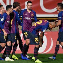 Barcelona sale vivo en la Copa del Rey