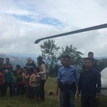 Mantienen Gobierno de Oaxaca y Sedena apoyo a comunidades afectadas por lluvias