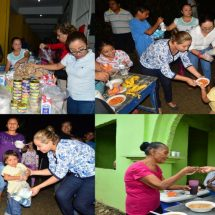 María Luisa Vallejo instala Centro de Acopio y lleva alimentos a damnificados por lluvias