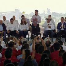 Defiende Peña el NAICM; es una obra 'transexenal'