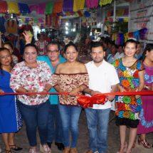 """Inauguran la Feria Artesanal por el """"Día de Muertos"""" en Tuxtepec"""