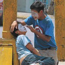 Fantasmal regreso de niños a cruceros de Oaxaca