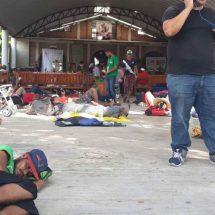 Tiende la mano a centroamericanos en Niltepec, Oaxaca
