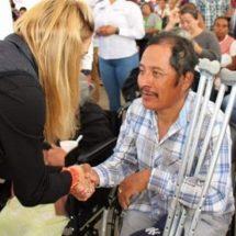 Ivette Morán de Murat encabeza la Sexta Feria Nacional de Empleo para Personas Mayores y con Discapacidad