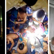 Rescatan a 146 migrantes que viajaban en un tráiler