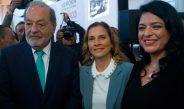 Agradece AMLO a Carlos Slim por compromiso con causas culturales