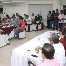 Participativa la clase política de Tuxtepec en reunión con Dávila rumbo a la Cumbre 20-30