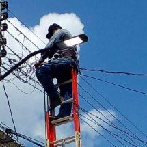 Inician rehabilitación de luminarias en bulevares