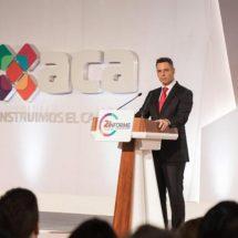 2018, inversión histórica para Oaxaca: 1,410 MDD