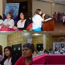 Se reúne María Luisa Vallejo con Presidentas DIF de Oaxaca y Veracruz.