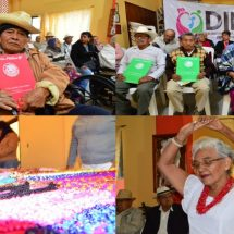 DIF Tuxtepec entrega de Testamentos a Adultos Mayores.