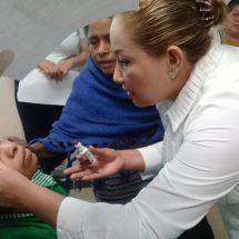 María Luisa Vallejo García pendiente de cirugías visuales