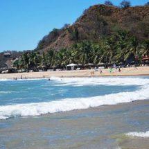 Tres personas ahogadas en playas de Oaxaca durante el puente: CEPCO