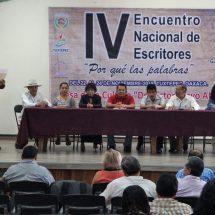 """Inició el IV Encuentro Nacional de Escritores """"Por qué las palabras"""" en Tuxtepec"""