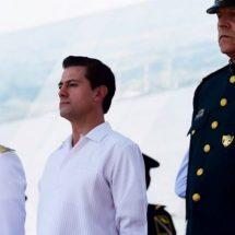 En su visita a Oaxaca, afirma Peña Nieto que sociedad reconoce esfuerzo de las Fuerzas Armadas