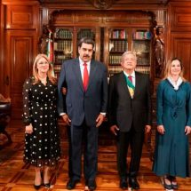 Tras encuentro con AMLO, Nicolás Maduro vuelve a Venezuela
