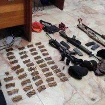 DETIENE LA POLICÍA ESTATAL A PERSONA ARMADA EN EL ISTMO