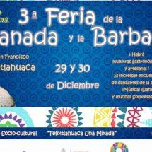 Celebrará San Francisco Telixtlahuaca su Tercera Feria de la Empanada y la Barbacoa
