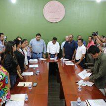 Aprueba Cabildo recinto para II Informe de Dávila y Comisiones de Entrega-Recepción