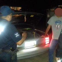 RECUPERA POLICÍA ESTATAL VEHÍCULO CON REPORTE DE ROBO EN TUXTEPEC