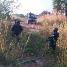 LOCALIZA POLICÍA ESTATAL TOMA CLANDESTINA EN EL ISTMO