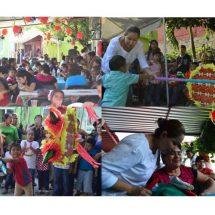 Celebra Presidenta DIF junto a pequeñitos de Pedagogía  posada llena de sorpresas