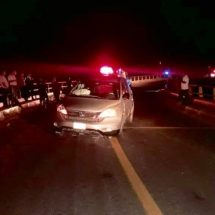 Un accidente deja daños materiales en la Costa