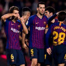 Sin Messi, Barcelona sella boleto a octavos en Copa