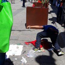 Incrementa número de indigentes en calles de Oaxaca