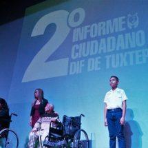 Conmueven acciones de María Luisa Vallejo en el DIF Tuxtepec