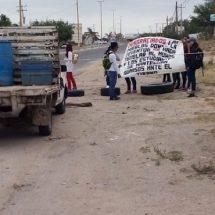 Bloquean paso de Ixtaltepec a Ixtepec en el Istmo